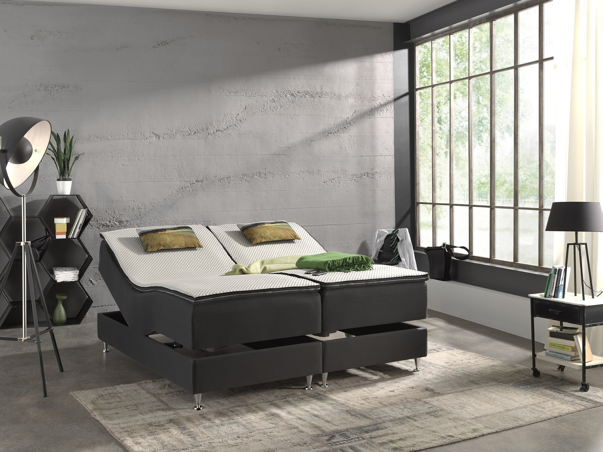 Opprinnelig Regulerbar seng Test 2019 → Velg den beste regulerbare sengen XJ-69