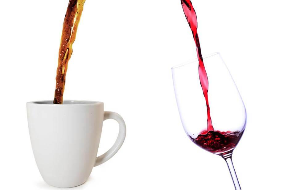 vin og kaffe søvn