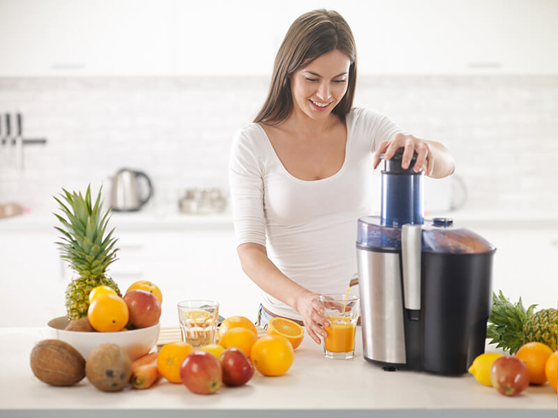 cold press hydraulic juicer