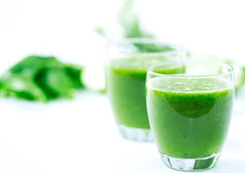 juice med spinat