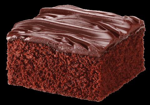 chokoladekage bagt i bagemaskine