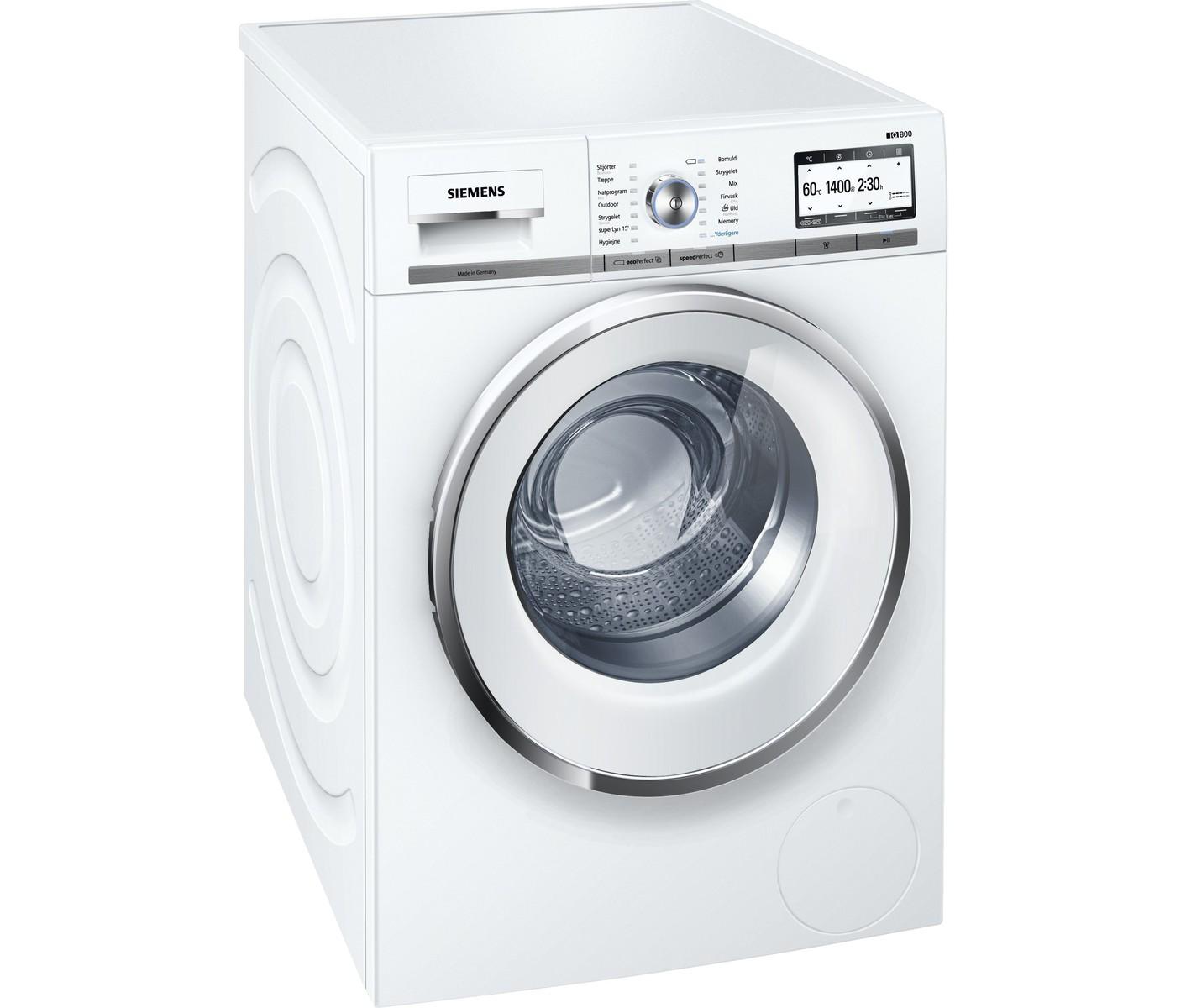 Siemens WM14Y748DN vaskemaskine