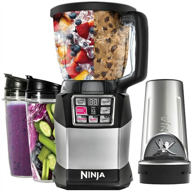 Nutri Ninja 1200W blender test