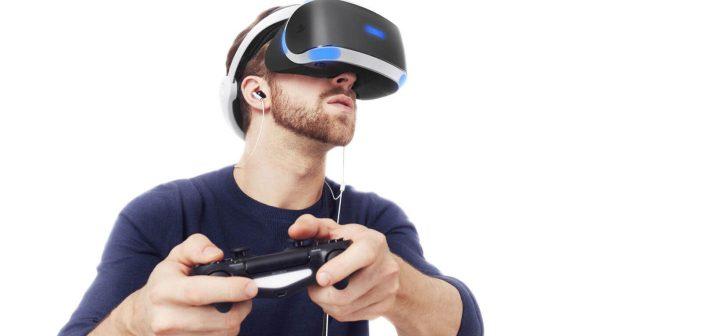 Playstation VR-glasoegon test