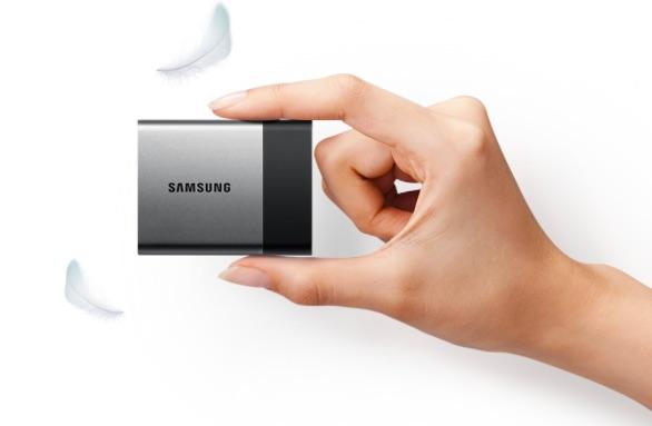 Samsung Portable SSD T3 harddisk