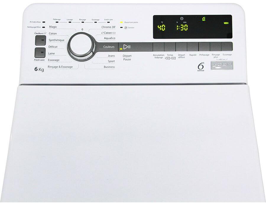 Whirlpool TDLR60230 betjening