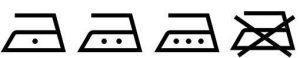 Symboler för strykning