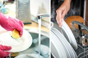 opvask i hånd vs maskine