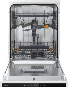 opvaskemaskine åben