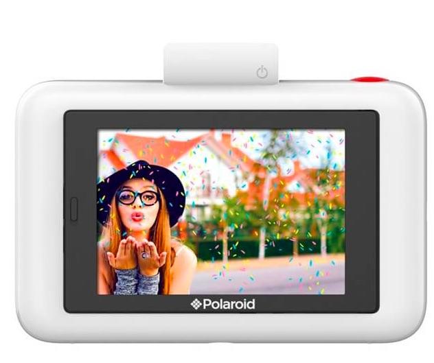 Polaroid snap touch bagside skaerm