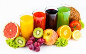 juice frugter