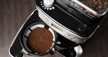 Kaffemaskine med kvaern
