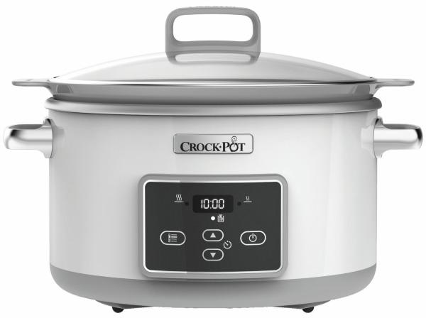 Crock Pot Slow Cooker 5,0 L Dura Ceramic Timer