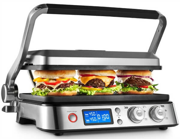 DeLonghi CGH1012D multigrill - burger grill