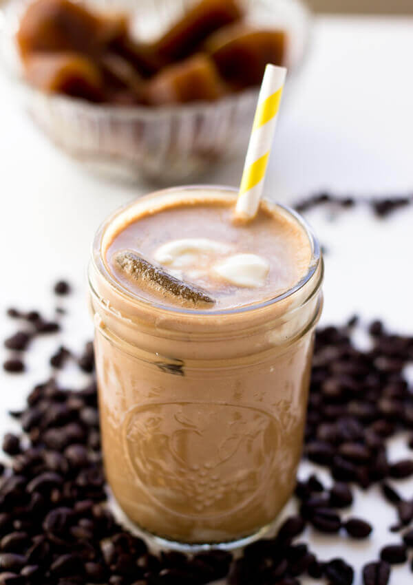 kaffe-smoothie