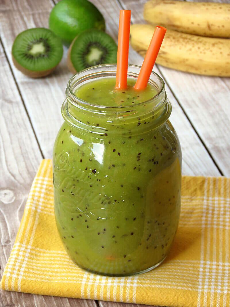 kiwi-banan-smoothie