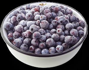Färska eller frysta frukter