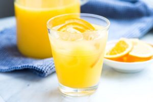 Kryddig apelsinjuice