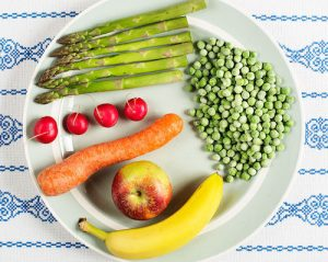 frugt og grønt 600g