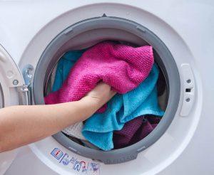 vaskemaskine påfyldning