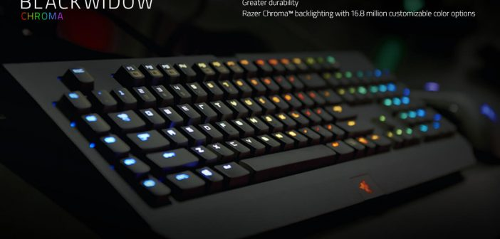 Razer Blackwidow Chroma test