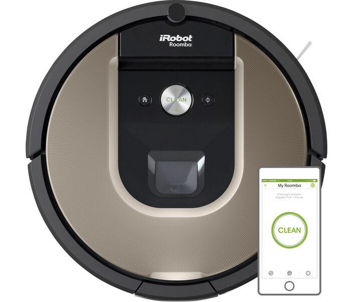 iRobot-Roomba-966-Electrolux-Anubis-ERV5210TG-Robotdammsugare