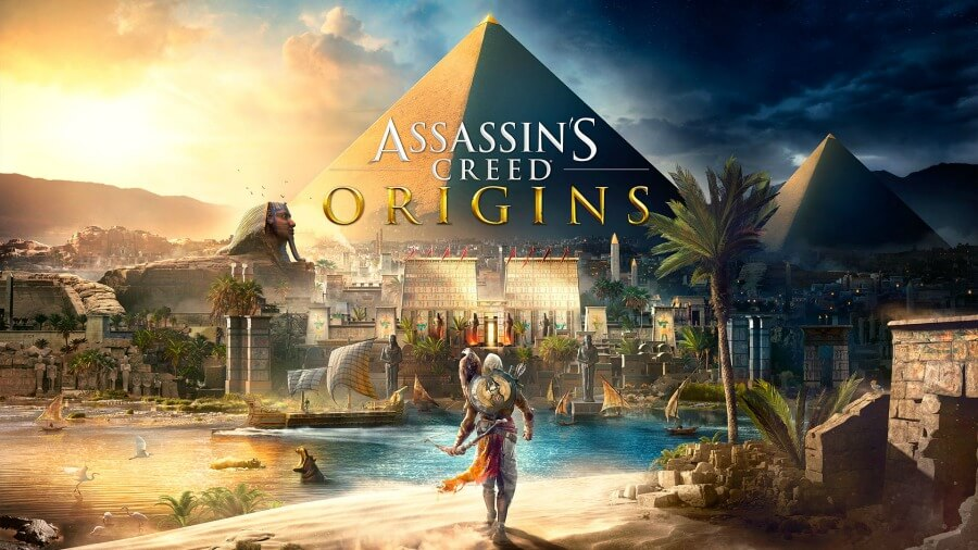 Assassin's Creed Origins PS4 spil