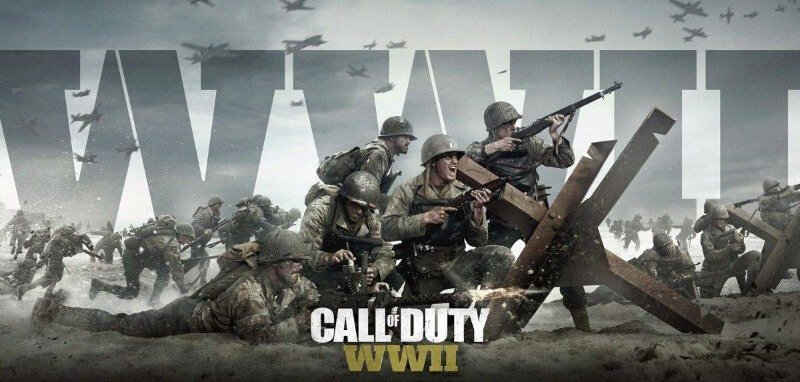 Call of Duty WW2 playstation 4 spil