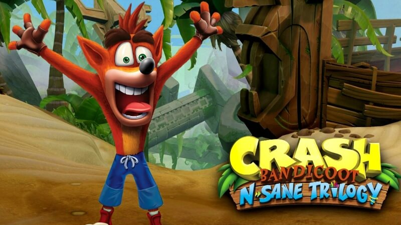 Crash Bandicoot N.Sane Trilogy ps4 spil