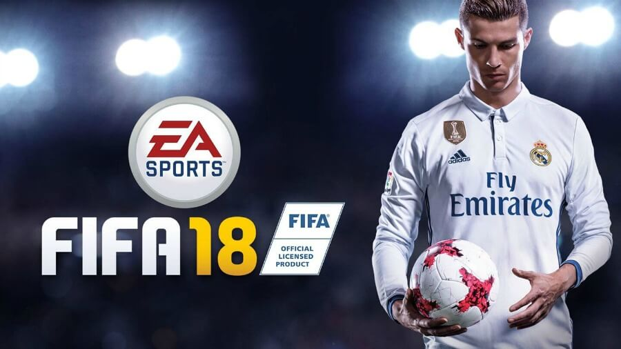 FIFA-18 ps 4 spil