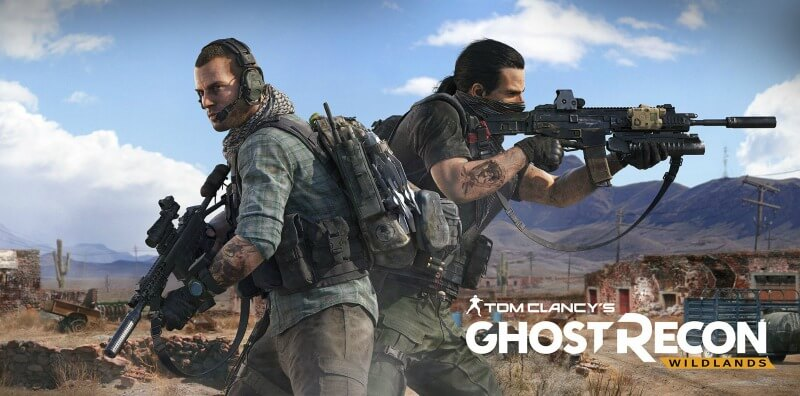 Ghost Recon Wildlands playstation 4 spillet