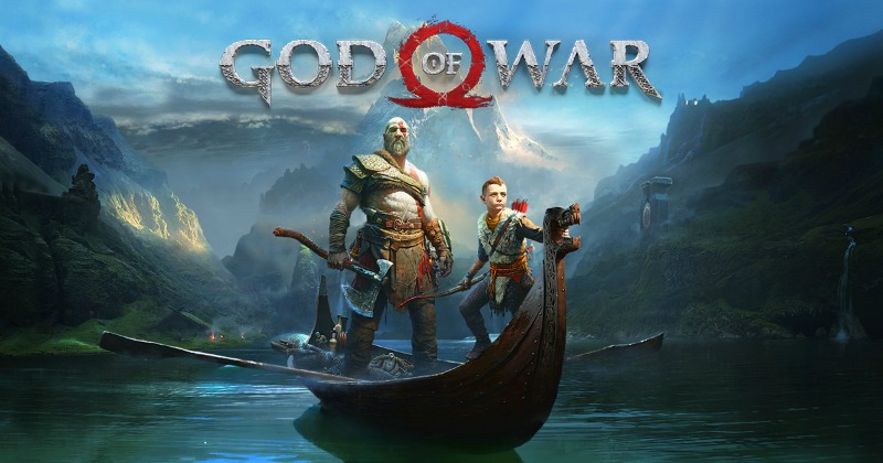God of War 4 playstation 4 spillet