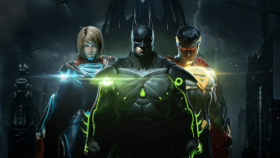Injustice 2 playstation 4 spil