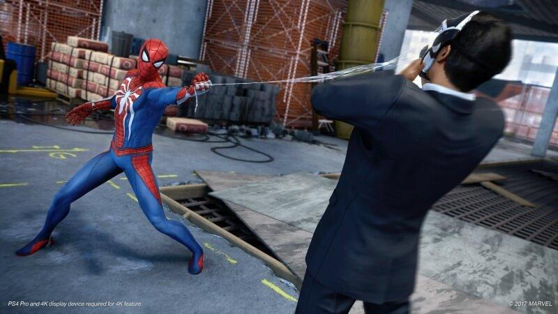 Marvel's Spider-Man ps4 spil