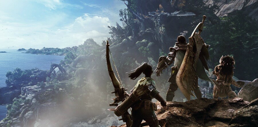 Monster Hunter- World ps4 game