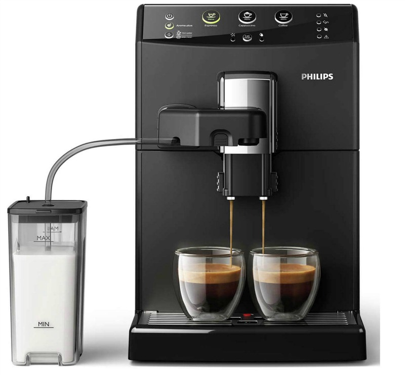 Philips HD8821 01 espressomaskine - alternativ til Siemens
