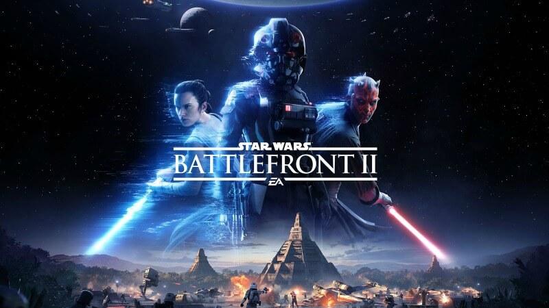 Star Wars Battlefront 2 ps 4 spil