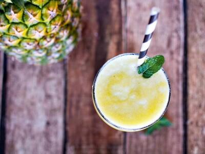ananas-mynte-smoothie