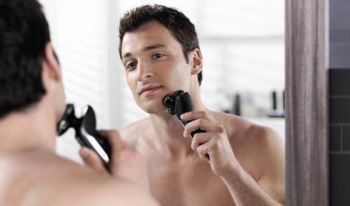 glat barbering med philips barbermaskiner