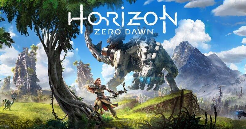 playstation 4 spil - Horizon Zero Dawn