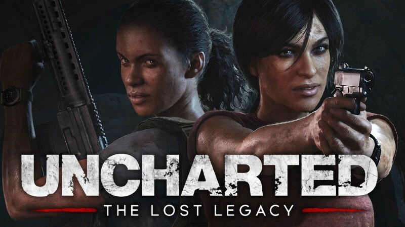ps4-spil Uncharted The Lost Legacy