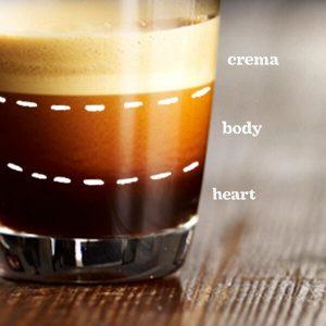 espresso opbygning