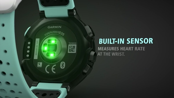 Garmin Forerunner 235 sensor
