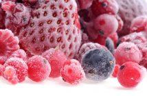 frusen frukt