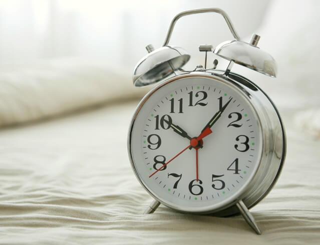 faste sengetider