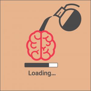 Kaffe hjärnan