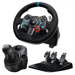 Logitech G29 Driving Force + Driving Force Shifter Bundle til PS3:PS4