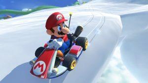 Mario Kart Deluxe 8 sne