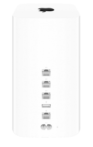 Apple AirPort Extreme (bagside)