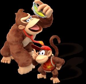 Donkey Kong og Diddy Kong